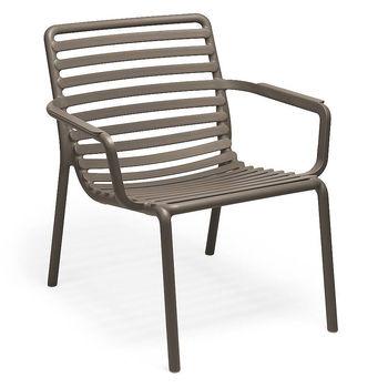 Лаунж Кресло Nardi DOGA RELAX TABACCO 40256.53.000 (Лаунж Кресло для сада и террасы)