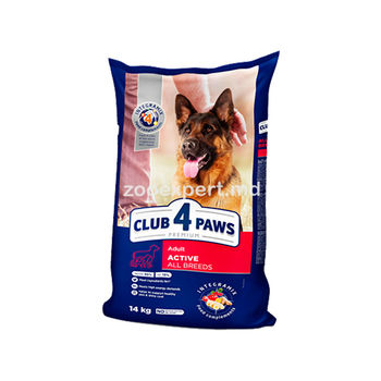 Club 4 Paws Active All Breeds14kg