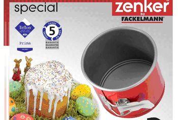 Форма для выпечки пасхи Zenker D12.5сm, H10.5сm