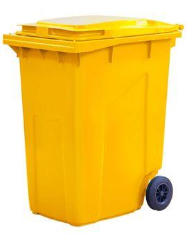 360L, Kонтейнеры для мусора, желтый