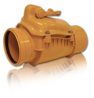 купить Обратный клапан нерж. ПВХ ф. 125 BTH в Кишинёве