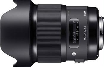купить Prime Lens Sigma AF  20mm f/1.4 DG HSM ART F/Nikon в Кишинёве