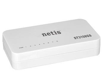 купить NETIS ST3108GS 8-портовый гигабитный Ethernet-коммутатор в Кишинёве