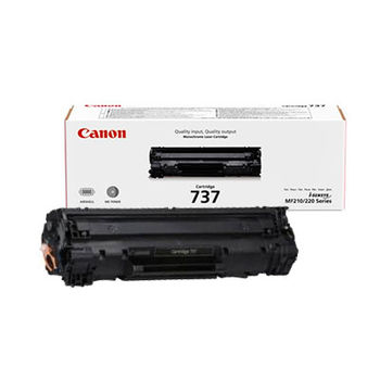 Cartridge Canon 737 black for MF22x/MF21x, 2400 pages
