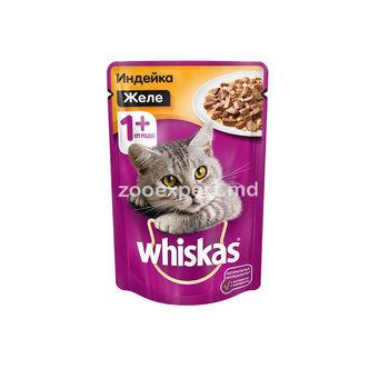 купить Whiskas желе с индейкой в Кишинёве
