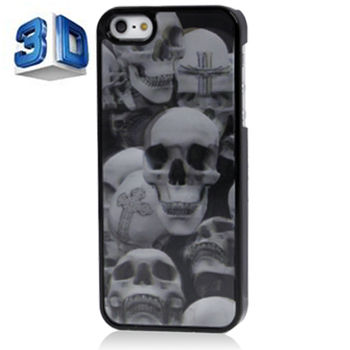 Чехол для iPhone 5 / 5S 3D Черепа