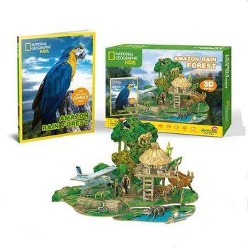 купить CubicFun пазл 3D Amozon Rain Forest в Кишинёве