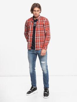 Рубашка TOM TAILOR Оранжевый 1021132 tom tailor