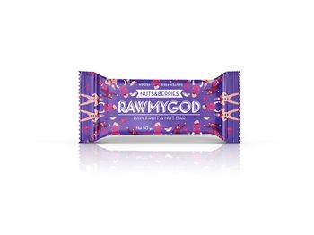 Батончик Rawmygod (орехи и ягоды), 50 г