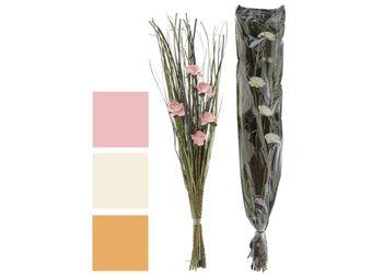 Floare artiticiala H30cm in ghiveci plastic,4 modele
