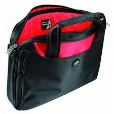 "PORT NetBags Line/NYLON RED 7/11.6"" Bag-bag for 7-12 netbooks-reinforced laptop compartment-pocket for accessories-strap transport-2 handles transportation-trolley strap-pockets"