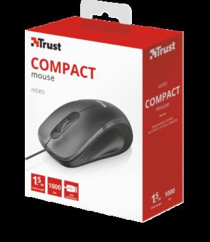 Mouse Trust Ivero Compact, Black