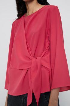 Блуза ZARA Красный 3564/183/630