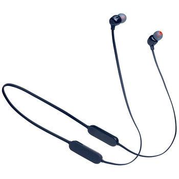 JBL Tune T125BT Blue Bluetooth Wireless In-Ear Headphones, 20Hz-20kHz, 16 Ohms, 96dB, Microphone, Remote, BT5.0, 120 mAh Lithium-Ion Polymer up to 16 hours, (casti cu microfon fara fir JBL / беспроводные наушники с микрофоном JBL)