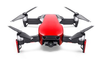 (159909) DJI Mavic Air Fly More Combo (EU) / Flame Red - Portable Drone, RC, 12MP photo / 32 MP sphere panoramas, 4K 30fps / FHD 120fps camera with gimbal, max. 5000m height/ 68.4kmph speed, flight time 21min, Battery 2375 mAh, 430g (extra kit)
