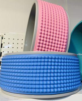 купить Кольцо-колесо для йоги Roata Yoga  с шипами d=32cm (3230) в Кишинёве