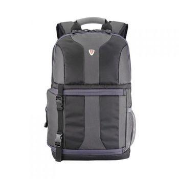 "SUMDEX SLR Camera Backpack 14"" NJC-486BK (Impulse @ Full Speed), SLR Camera & Notebook Backpack, Ext. dimension: 29,2 x 44,5 x 17,1 cm, Black/Grey"