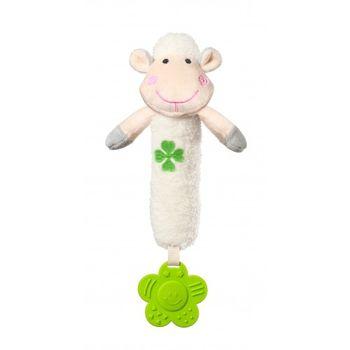 купить BabyOno игрушка-пищалка с прорезывателем Sweet Lambie в Кишинёве