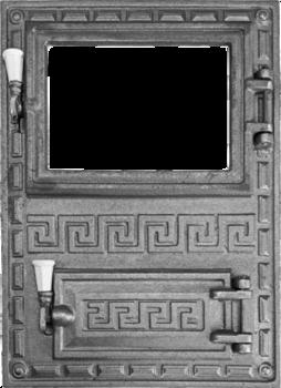 Дверь GREC под стекло для печи