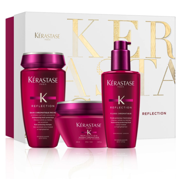 ДЛЯ ОКРАШЕННЫХ ВОЛОС KER REFLECT(BAIN 250ML+MASK 200ML+FLUIDE  125ML)SET