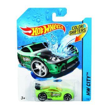Машинки меняющие цвет. Серия COLOR SHIFTERS в ассортименте Hot Wheels