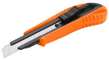 Нож 18 мм пластик усиленный Wokin