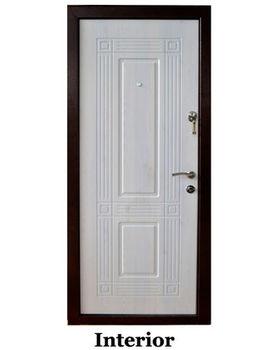 Дверь металлическая Diplomat DT3-2 960x2050x70 мм венге