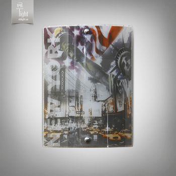 купить N&B Light Бра 5801-4 серии Путешествие Нью-Йорк в Кишинёве