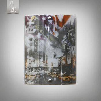 cumpără N&B Light Bra 5801-4 серии Путешествие Нью-Йорк în Chișinău