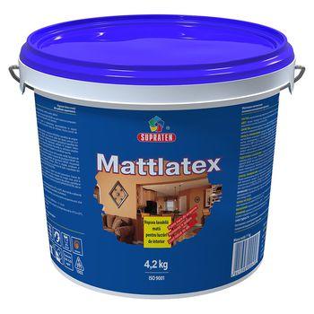 Supraten Латексная краска Mattlatex 4.2кг