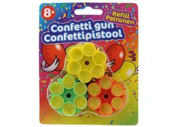 Конфетти для пистолета Party 3штX6выстрела