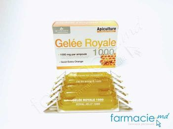 cumpără Royal Jelly 1000 mg ampule buvabile 10ml  N10 (laptisor de matca) în Chișinău