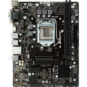 Biostar B360MHD PRO, Socket 1151, Intel® B360 (8th Gen CPU), Dual 2xDDR4-2666, CPU Intel graphics, VGA, DVI, HDMI, 1xPCIe X16, 4xSATA3, 2xPCIe X1, HDA, GbE LAN, 6xUSB3.1, mATX
