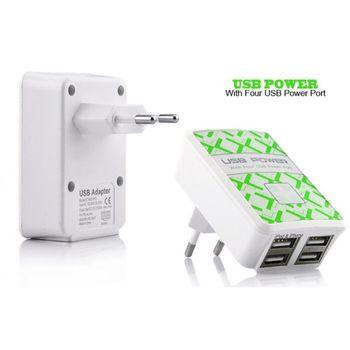 Сетевое зарядное устройство Universal 4-USB