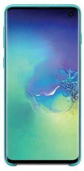 cumpără Husă Samsung Galaxy S10 (EF-PG973) Silicon Cover Green în Chișinău