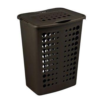 Curver Корзина для белья Rattan Style Темно-коричневая 40