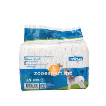 Nobleza подгузники для собак 12 шт / размер L