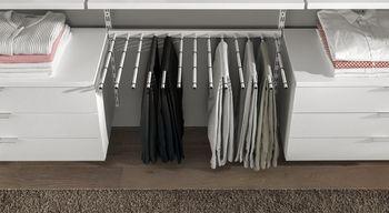 cumpără Cuier pentru pantaloni cu 13 bare 800x400 mm, argintiu în Chișinău