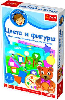 "01106 Trefl Game - ""Цвета и фигуры"" RU/UA"