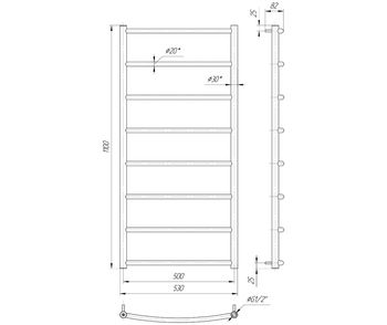 Классик HP 1100x530/500