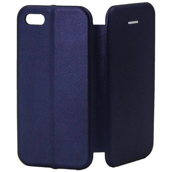 купить Чехол Senno Flip Cover Leather  Iphone 6/6s , Dark Blue в Кишинёве