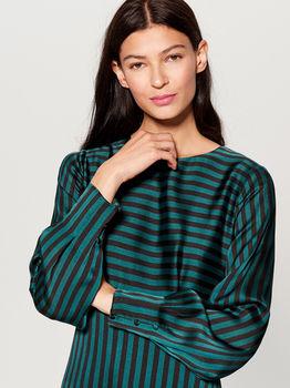 Платье MOHITO Зеленый/Черный uh164-mlc