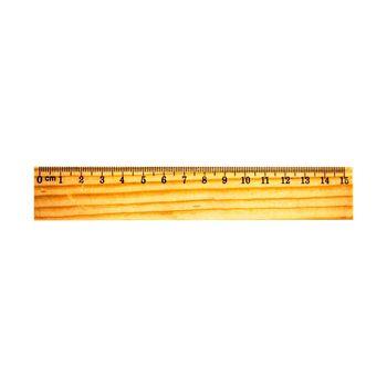 Линейка деревянная 15 см