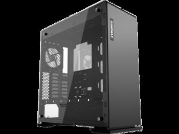 купить Case ATX GAMEMAX VEGA, w/o PSU, 1x120mm RGB fan, RGB LED Strip, PWM Controller, TG, USB3.0, Black в Кишинёве