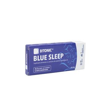 cumpără Bitonic Blue Sleep Melisa, Hamei, vitB3 si vitB7 caps. N10 în Chișinău