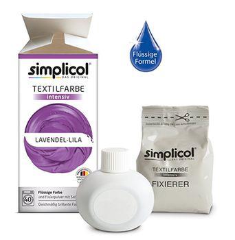 cumpără SIMPLICOL Intensiv - Lavendel-Lila, Vopsea pentru haine si textile in masina de spalat, Lavendel-Lila în Chișinău