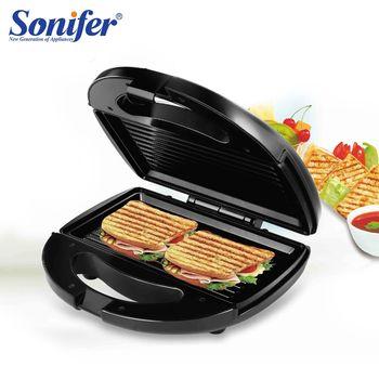 Аппарат для приготовления вафель, орешков и гриль SF-6063 Sonifer 800W