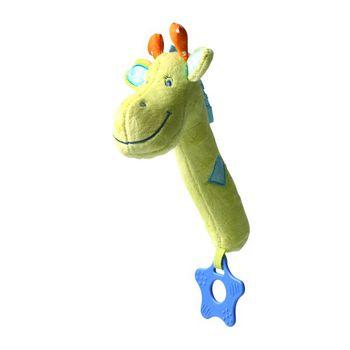 Игрушка-пищалка с прорезывателем Жираф