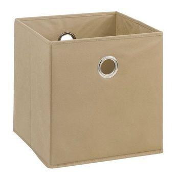 купить Бокс для хранения Boon 320x320x320 mm, коричневый в Кишинёве