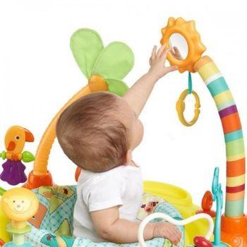 cumpără Bright Starts Centru de activități Springin Safari Bounce-A-Round în Chișinău
